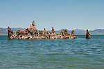 tufas, Mono Lake; Mono Basin National Forest Scenic Area, California, USA.  Photo copyright Lee Foster.  Photo # california120970
