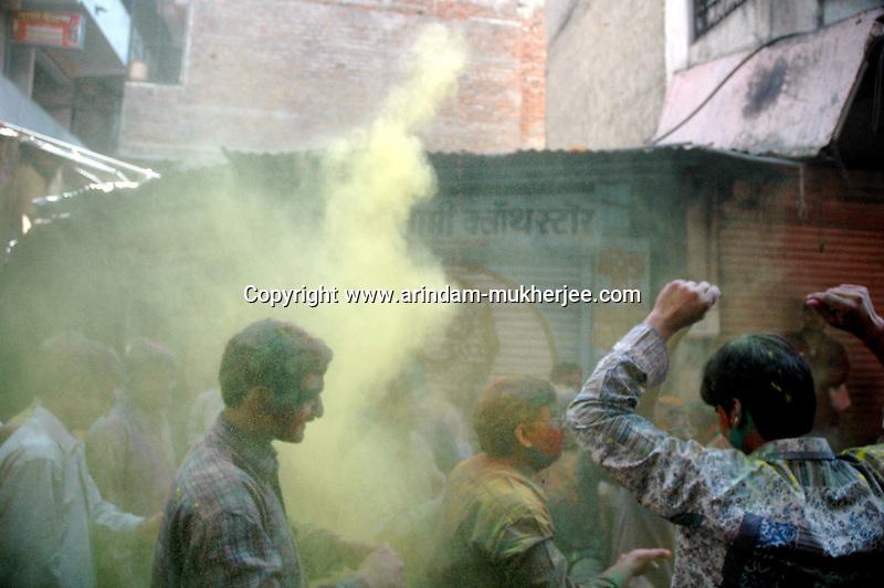 Holi festival in Jaipur, Rajasthan, India, Arindam Mukherjee
