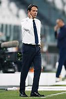 20th July 20202, Allianz Stadium, Turin, Italy; Serie A football league, Juventus versus Lazio; Simone Inzaghi, manager of Lazio