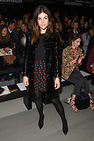 Julia Restoin Roitfeld<br /> at the Marta Jakubowski show as part of London Fashion Week, London<br /> <br /> <br /> ©Ash Knotek  D3378  16/02/2018