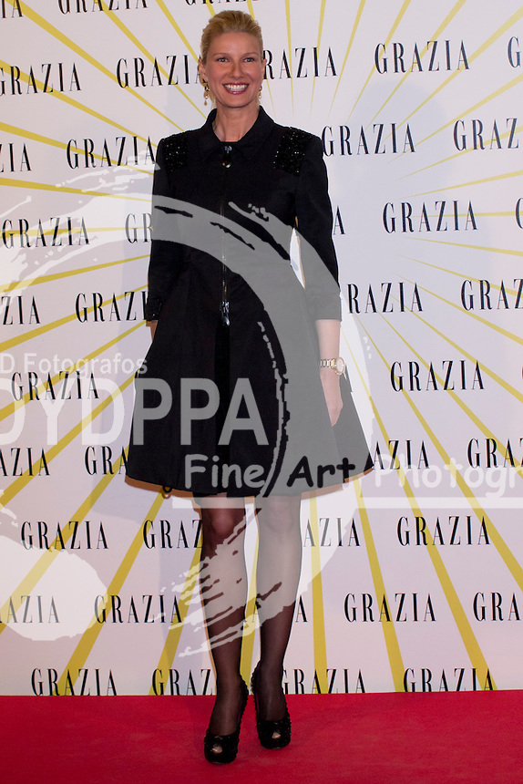 12.02.2013. Circo Price. Madrid. Spain. Celebrities attend the Party for the new magazine 'Grazia'. In the image: Anne Igartiburu. (C) Ivan L. Naughty / DyD Fotografos//