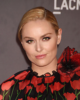 LOS ANGELES, CA - NOVEMBER 04: American World Cup alpine ski racer Lindsey Vonn attends the 2017 LACMA Art + Film Gala Honoring Mark Bradford and George Lucas presented by Gucci at LACMA on November 4, 2017 in Los Angeles, California.<br /> CAP/ROT/TM<br /> &copy;TM/ROT/Capital Pictures