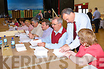 The scene during the South Kerry Lisbon Treaty count in the Aras Padraig Killarney on Friday