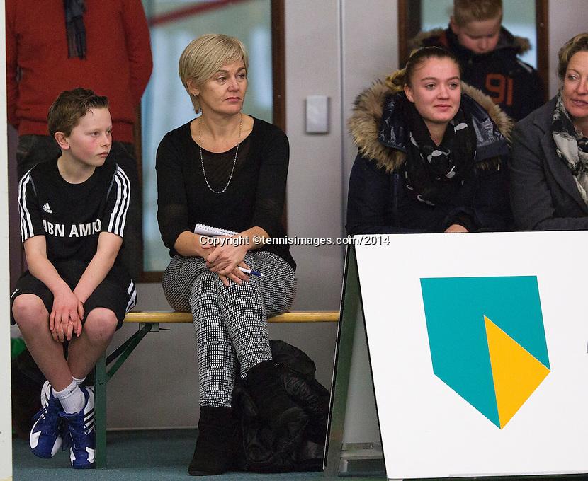 19-01-14,Netherlands, Rotterdam,  TC Victoria, Wildcard Tournament, ,   Final,  Alban Meuffels (NED)    Fabian van der Lans (NED)<br /> Photo: Henk Koster