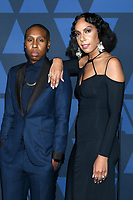 LOS ANGELES - OCT 27:  Lena Waithe, Melina Matsoukas at the 11th Annual Governors Awards at the Dolby Theater on October 27, 2019 in Los Angeles, CA