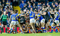 Picture by Allan McKenzie/SWpix.com - 23/03/2018 - Rugby League - Betfred Super League - Leeds Rhinos v Castleford Tigers - Elland Road, Leeds, England - Castleford and Leeds get into a fight.