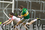James O'Donoghue, Kerry in action against   Tyrone in the fourth round of the National Football league at Fitzgerald Stadium, Killarney on Sunday.