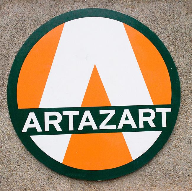 Sign, Artazart Shop, Paris, France, Europe