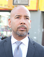 NEW YORK, NY - JULY 11: Bronx Borough President Ruben Diaz at the funeral of slain New York City Police Officer Miosotis Familia held at World Changers Church New York in Bronx,  New York on July 11, 2017.  Photo Credit: Rainmaker Photo/MediaPunch