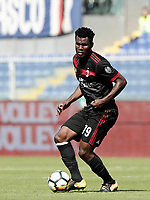 Calcio, Serie A: Genova, Stadio Luigi Ferraris, 24 settembre 2017. <br /> Milan's Frank Kessie in action during the Italian Serie A football match between Sampdoria and Milan at Genova's Luigi Ferraris stadium. September 24, 2017.<br /> UPDATE IMAGES PRESS/Isabella Bonotto