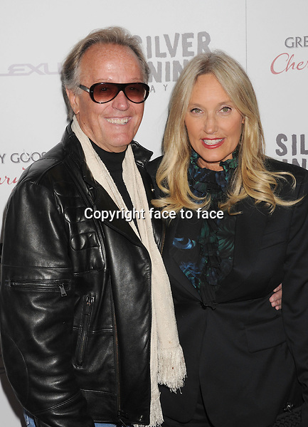 """Peter Fonda and Margaret Devogelaere arriving at the """"Silver Linings Playbook"""" - Los Angeles Special Screening at the Academy of Motion Picture Arts and Sciences on November 19, 2012 in Beverly Hills, California., ..Credit: Mayer/face to face - No Rights for USA and Canada -"""