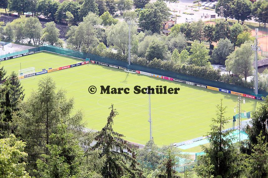 Blick auf den Trainingsplatz des DFB in St Martin - Testspiel der Deutschen Nationalmannschaft gegen die U20 im Rahmen der WM-Vorbereitung in St. Martin