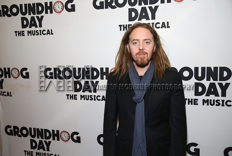 Tim Minchin attends the Broadway Opening Night After Party for 'Groundhog Day' at Gotham Hall on April 17, 2017 in New York City.