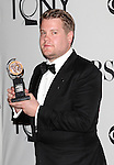 James Corden pictured at the 66th Annual Tony Awards held at The Beacon Theatre in New York City , New York on June 10, 2012. © Walter McBride /  WM Photography .