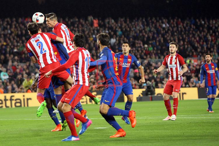 Copa del Rey 2016/2017 - Semifinal vuelta.<br /> FC Barcelona vs Atletico Madrid: 1-1.