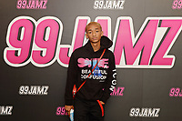HOLLYWOOD, FL - MAY 11: Jaden Smith viists Jamz Live at radio station 99 Jamz on May 11, 2018 in Hollywood, Florida. <br /> CAP/MPI04<br /> &copy;MPI04/Capital Pictures