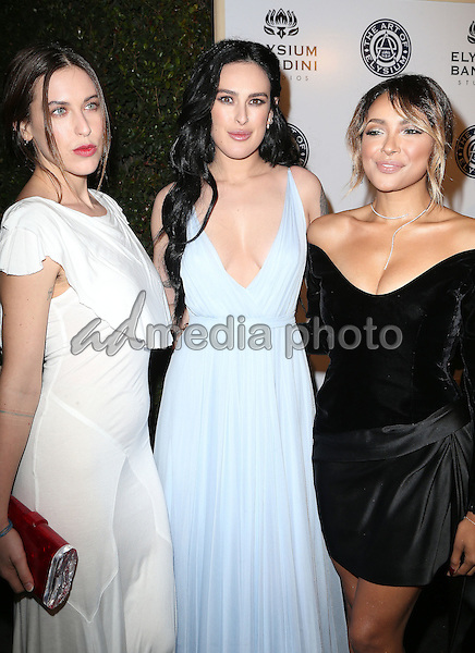 "07 January 2017 - Los Angeles, California - Scout Willis, Rumer Willis, Kat Graham. The Art of Elysium 20th Anniversary and 10th Annual celebration ""HEAVEN"" Gala held at Red Studios. Photo Credit: F. Sadou/AdMedia"