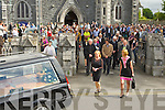 Con Houlihan ashes leave St Stephen and John church on Friday