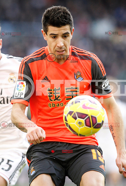 Real Sociedad's Yuri Berchiche during La Liga match.January 31,2015. (ALTERPHOTOS/Acero) /NortePhoto<br />