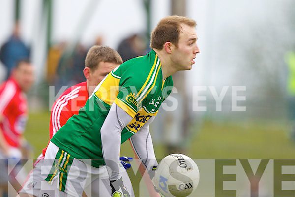Darran O'Sullivan Kerry in action against \\ Cork in the National Football League at Austin Stack park, Tralee on Sunday.