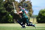 NELSON, NEW ZEALAND - NOVEMBER 30: Premiership Cricket - WTTU v Stoke/Nayland. Saturday 30 November 2019, Jubilee Park, Richmond, New Zealand. (Photo by Chris Symes/Shuttersport Limited)