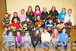 Kids from Glenbeigh at the FAME classes in the GAA pavilion on Saturday front row l-r: Riain O'Donovan, Abbey Sheehan, Ellie Kavanagh, Ciara McGillicuddy, Andrea Houlihan, Colleen Murphy, Niamh O'Connor. Middle row: Jack McGillicuddy, Dylan Morgan, Jack O'Sullivan, Chloe Coffey, Ethan Victor, Lauren Victor. Back row: Ethan Falvey, Daniel Moore, Julianne Sheahan, Meagan Redden, Yvonne O'Shea, Emma Sheahan, Aisling Brennan, Louise McGillicuddy and Lisa O'Connor