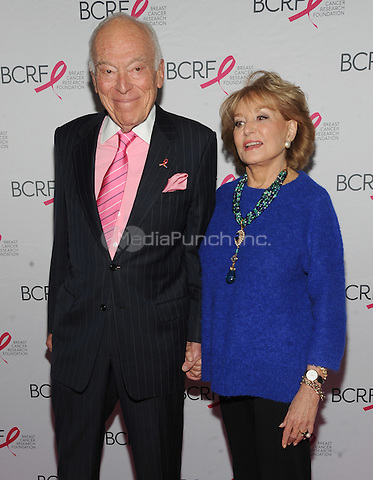 New York, NY- October 9: Leonard Lauder and  Barbara Walters attends the 2014 Breast Cancer Research Foundation awards luncheon honoring Barbara Walters  at the Waldorf-Astoria on October 9, 2014 in New York City. Credit: John Palmer/MediaPunch