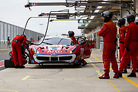 10th January 2020; The Bend Motosport Park, Tailem Bend, South Australia, Australia; Asian Le Mans, 4 Hours of the Bend, Practice Day; The number 51 Spirit Of Race GT driven by Francesco Piovanetti, Oswaldo Negri Jr, Alessandro Pierguidi during the team test - Editorial Use