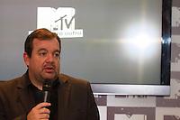 SÃO PAULO, SP - 24.09.2013: COLETIVA DE IMPRENSA MTV - Raul Costa (gerente-geral da Viacom Brasil) durante a coletiva de imprensa da MTV, a coletiva ocorre no Hotel Emiliano na Rua Oscar Freire, 384, região central de São Paulo, nesta terça-feira (24).  (Foto: Marcelo Brammer/Brazil Photo Press)