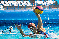 GORLERO Giulia ITA<br /> ITA (white cap) -  CAN (blue cap)<br /> Water Polo<br /> Day03  16/07/2017 <br /> XVII FINA World Championships Aquatics<br /> Alfred Hajos Complex Margaret Island  <br /> Budapest Hungary July 15th - 30th 2017 <br /> Photo @ Deepbluemedia/Insidefoto