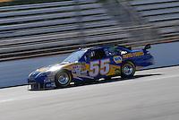 Mar 30, 2007; Martinsville, VA, USA; Nascar Nextel Cup Series driver Michael Waltrip (55) during practice for the Goody's Cool Orange 500 at Martinsville Speedway. Martinsville marks the second race for the new car of tomorrow. Mandatory Credit: Mark J. Rebilas