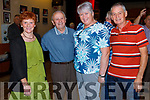 Mary Flaherty, Pat Lyons, Marie Houlihan and Tommy O'Connor at the Céilí held in the Ceolann Lixnaw on Sunday.