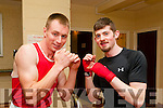 Fight Night : Pictured at the Fight Night held at the Listowel Community Centre on Friday night last were Garry & Thomas O'Keeffe who boxed on the night.