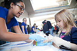 Brain Awareness Week Open House event, hosted by Duke Institute for Brain Sciences, at Hall of Science, Levine Science Research Center.