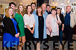 Margaret O' Connor celebrated her Birthday at the Station House, Blennerville on Saturday night, from left: Orla O' Connor, Neil Ryan, Rose Ryan, Katie Power, Eoin O' Connor, Margaret O' Connor, James O' Connor, Ciaran O' Connor, Catherine Lyons, Maryel Harris, John Lynch