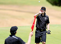 Jonathan Cane of Wellington. Day One of the Toro Interprovincial Men's Championship, Mangawhai Golf Club, Mangawhai,  New Zealand. Tuesday 5 December 2017. Photo: Simon Watts/www.bwmedia.co.nz