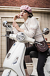 Sunday Mail Fashion with Mirella , Beret , French Vibe, model Lily C from Finesse Photo: Nick Clayton