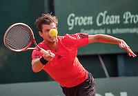The Hague, Netherlands, 25 July, 2016, Tennis,  The Hague Open , Antal van der Duim (NED)<br /> Photo: Henk Koster/tennisimages.com