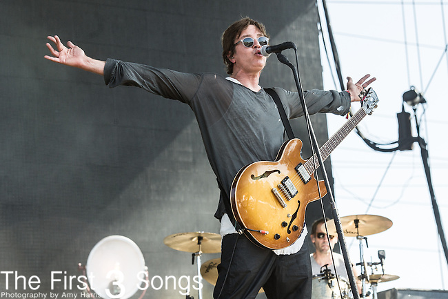 Stephan Jenkins of Third Eye Blind performs at the 2nd Annual BottleRock Napa Festival at Napa Valley Expo in Napa, California.
