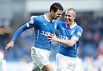 Haris Vuckic and Kenny Miller