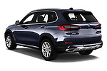 Car pictures of rear three quarter view of a 2019 BMW X5 x Line 5 Door SUV angular rear