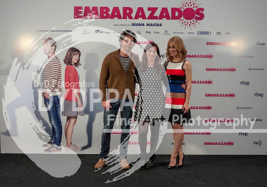 Paco Leon, Juana Macias and Alexandra Jimenez attends