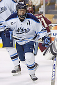 Steve Mullin - The Boston College Eagles defeated the University of Maine Black Bears 4-1 in the Hockey East Semi-Final at the TD Banknorth Garden on Friday, March 17, 2006.
