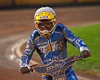 Erik Riss of King's Lynn Stars during Poole Pirates vs King's Lynn Stars, SGB Premiership Shield Speedway at The Stadium on 11th April 2019