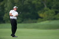 Phil Mickelson hits approach shot on the 7th during the opening round of the US PGA Championship at Valhalla (Photo: Anthony Powter) Picture: Anthony Powter / www.golffile.ie