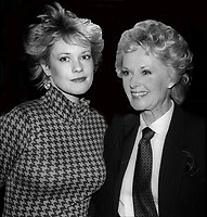 Melanie Griffith and mom TippiHedren 1985<br /> Photo By Adam Scull/PHOTOlink.net