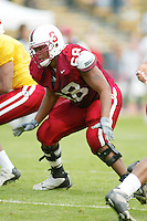 Ismail Simpson during the Spring Game on April 26, 2003 at Stanford Stadium.<br />