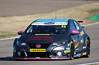 #22 Chris Smiley BTC Norlin Racing Honda Civic Type R (FK2) during BTCC Practice  as part of the Dunlop MSA British Touring Car Championship - Rockingham 2018 at Rockingham, Corby, Northamptonshire, United Kingdom. August 11 2018. World Copyright Peter Taylor/PSP. Copy of publication required for printed pictures.