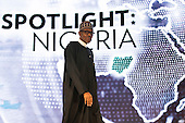 President of Nigeria Muhammadu Buhari arrives to speak at the U.S.-Africa Business Forum at the Plaza Hotel, September 21, 2016 in New York City. The forum is focused on trade and investment opportunities on the African continent for African heads of government and American business leaders. <br /> Credit: Drew Angerer / Pool via CNP