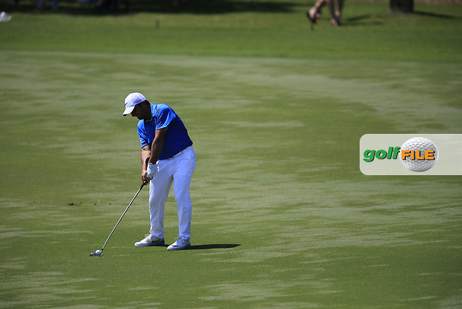 Francesco Molinari (IRA) during round 1of the Players, TPC Sawgrass, Championship Way, Ponte Vedra Beach, FL 32082, USA. 12/05/2016.<br /> Picture: Golffile | Fran Caffrey<br /> <br /> <br /> All photo usage must carry mandatory copyright credit (&copy; Golffile | Fran Caffrey)